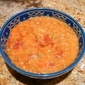 Amazing Red Lentil and Tomato Soup